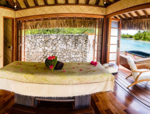 New! A Faré Spa on Vahine Island
