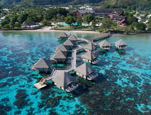 Luxury Overwater Bungalows  at the Tahiti Ia Ora Beach Resort by Sofitel 4*